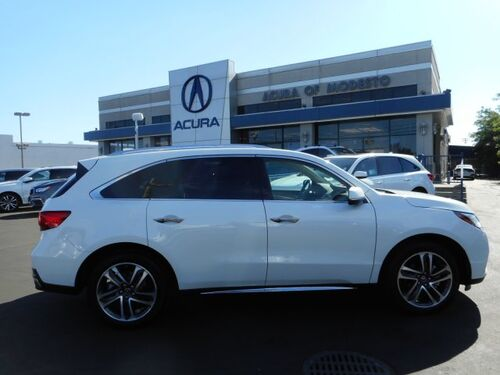 2018_Acura_MDX_w/Advance/Entertainment Pkg_ Modesto CA