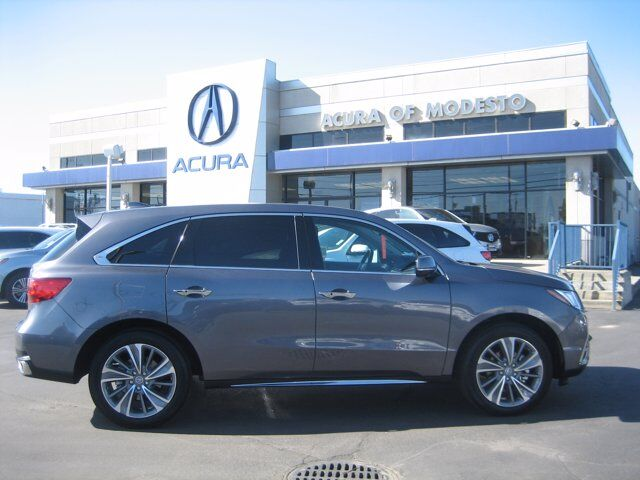 2018 Acura MDX w/Technology/Entertainment Pkg Modesto CA