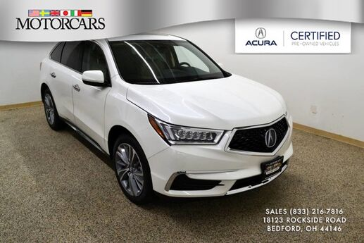 2018 Acura MDX w/Technology Pkg Bedford OH