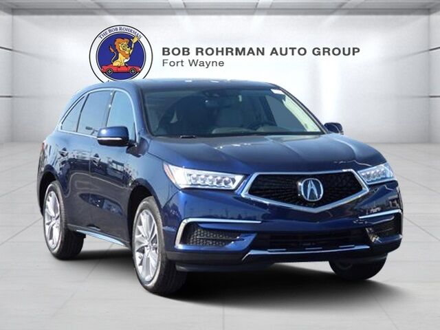 2018 Acura MDX with Technology Package Fort Wayne IN