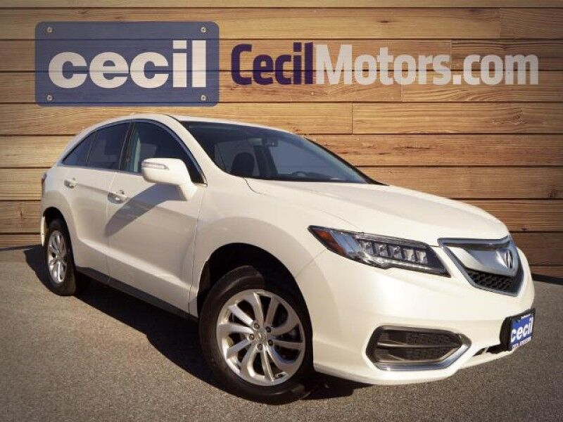 2018 Acura RDX Orange TX