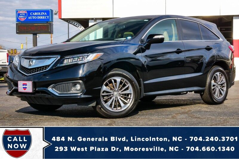 2018 Acura RDX ADVANCE w/ Tech Pkg & AcuraWatch Mooresville NC
