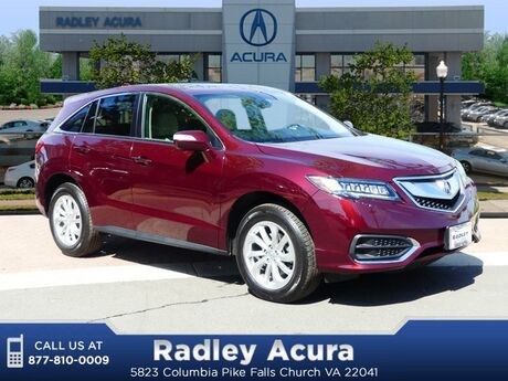 2018 Acura RDX AWD with Technology Package Falls Church VA