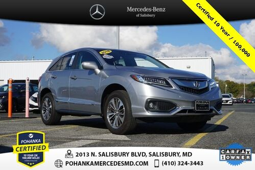 2018_Acura_RDX_Advance Package Adavance ** Pohanka Certfied 10 year / 100,000**_ Salisbury MD