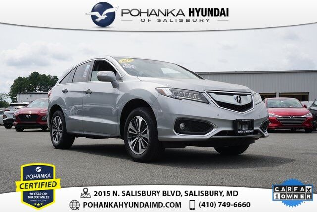 2018 Acura RDX Advance Package **ONE OWNER**NAVIGATION** Salisbury MD