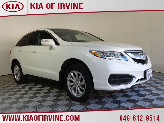2018 Acura RDX Technology & AcuraWatch Plus Packages Irvine CA