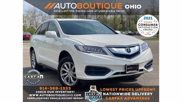 2018 Acura RDX w/Technology/AcuraWatch Plus Pkg Columbus OH