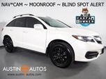 2018 Acura RDX w/Technology Pkg *NAVIGATION, BLIND SPOT ALERT, BACKUP-CAMERA, MOONROOF, LEATHER, HEATED SEATS, BLACK ALLOYS, BLUETOOTH PHONE & AUDIO
