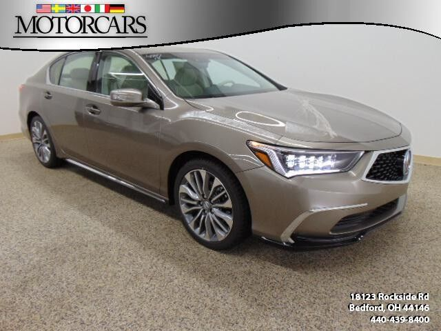 2018 Acura Rlx Wtechnology Pkg Bedford Oh 24075512