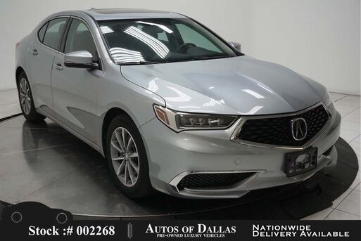 2018_Acura_TLX_2.4L CAM,SUNROOF,HTD STS,KEY-GO,17IN WLS_ Plano TX