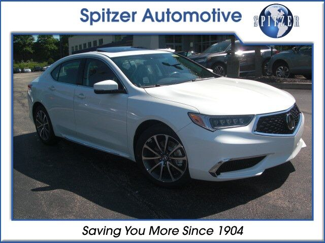 2018 Acura TLX 3.5 V-6 9-AT P-AWS with Technology Package McMurray PA