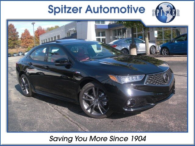 2018 Acura TLX 3.5 V-6 9-AT SH-AWD with A-SPEC RED McMurray PA
