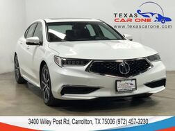 2018_Acura_TLX_V-6 SH-AWD TECHNOLOGY PKG ACURAWATCH PKG NAVIGATION BLIND SPOT ASSIST LANE KEEP ASSIST_ Carrollton TX