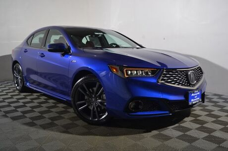 2018 Acura TLX V6 A-Spec Red Seattle WA