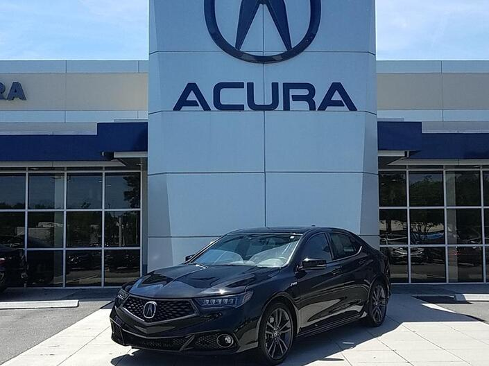 2018 Acura TLX w/A-SPEC Pkg Red Leather Columbia SC