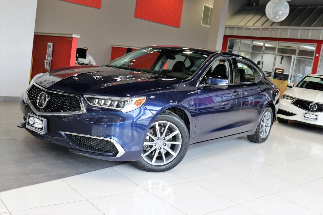 2018 Acura TLX w/Technology Package Navigation Sunroof 1 Owner Springfield NJ