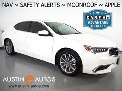 2018_Acura_TLX w/Technology Pkg_*NAVIGATION, BLIND SPOT ALERT, COLLISION ALERT w/BRAKING, ADAPTIVE CRUISE, BACKUP-CAMERA, LEATHER, MOONROOF, HEATED SEATS, BLUETOOTH, APPLE CARPLAY_ Round Rock TX