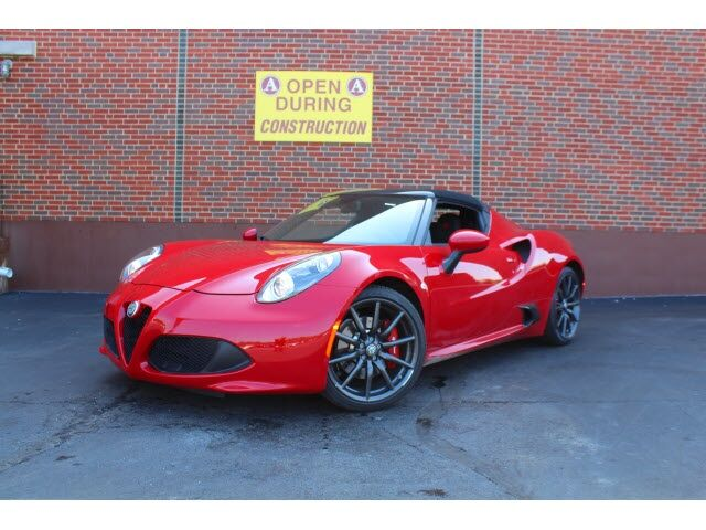 2018 Alfa Romeo 4C Spider Base Merriam KS