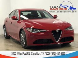 2018_Alfa Romeo_Giulia_AUTOMATIC NAVIGATION LEATHER SEATS REAR CAMERA KEYLESS START BLU_ Carrollton TX