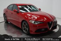 Alfa Romeo Giulia NAV,CAM,PARK ASST,18IN WHLS 2018