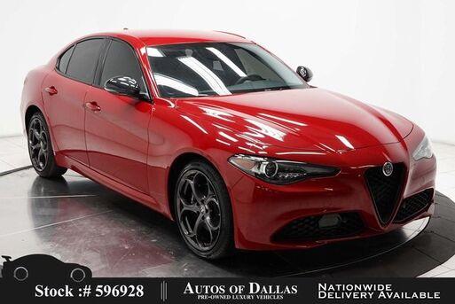 2018_Alfa Romeo_Giulia_Ti NAV,CAM,HTD STS,PARK ASST,19IN WHLS_ Plano TX
