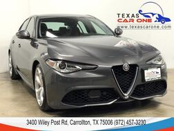 2018_Alfa Romeo_Giulia_Ti SPORT AUTOMATIC NAVIGATION LEATHER HEATED SEATS REAR CAMERA K_ Carrollton TX