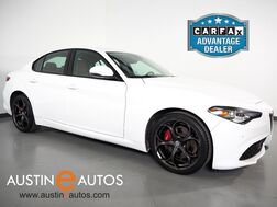 2018_Alfa Romeo_Giulia Ti Sport AWD_*COLOR TOUCH SCREEN, BACKUP-CAMERA, LEATHER, HEATED SEATS/STEERING WHEEL, SPORT SEATS, 19 INCH WHEELS, APPLE CARPLAY_ Round Rock TX