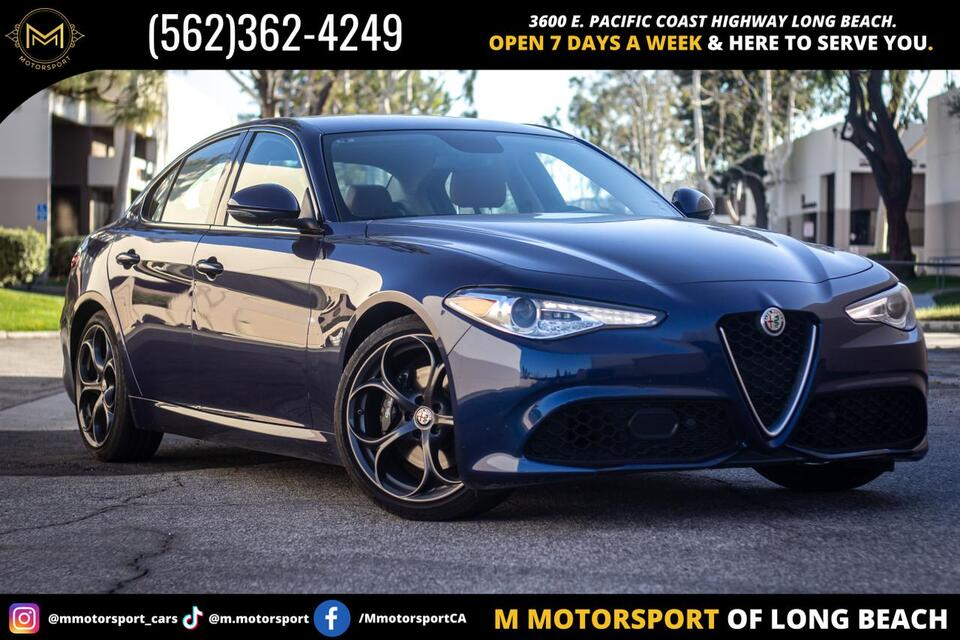 2018_Alfa Romeo_Giulia_Ti Sport Sedan 4D_ Long Beach CA