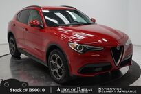 Alfa Romeo Stelvio CAM,KEY-GO,PARK ASST,19IN WHLS 2018