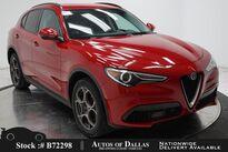 Alfa Romeo Stelvio NAV,CAM,PARK ASST,BLIND SPOT,19IN WHLS 2018