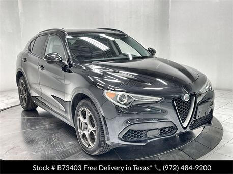 2018_Alfa Romeo_Stelvio_Sport NAV,CAM,PANO,HTD STS,BLIND SPOT,19IN WHLS_ Plano TX