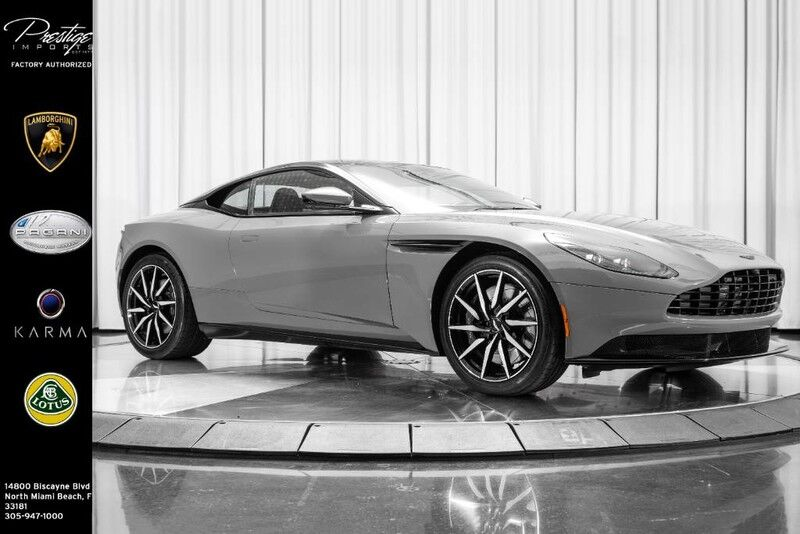 2018 Aston Martin Db11 V8 North Miami Beach Fl 29542152