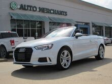 2018_Audi_A3_2.0 TFSI Premium Cabriolet CONVERTIBLE, LEATHER, HTD FRT STS, NAVI, BACKUP CAM, BLUETOOTH, WARRANTY_ Plano TX
