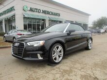 2018_Audi_A3_2.0 TFSI Premium Cabriolet Navigation System Back-Up Camera, Bluetooth Connection, Climate Control_ Plano TX