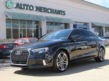2018_Audi_A3_2.0 TFSI Premium LEATHER SEATS, SUNROOF,  BLUETOOTH CONNECTION, BACK UP CAMERA_ Plano TX