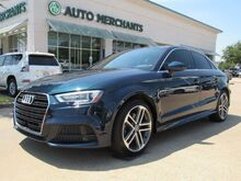 2018_Audi_A3_2.0 TFSI Premium Plus APPLE CAR PLAY. BACKUP CAMERA, SUNROOF, PUSH BUTTON START,_ Plano TX