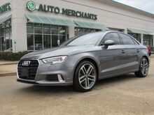 2018_Audi_A3_2.0 TFSI Premium Sun/Moonroof, Leather, Convenience Package, 2.0L Turbocharged, 4 Cylinder Engine_ Plano TX