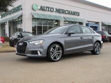 2018_Audi_A3_2.0 TFSI Premium*NAVIGATION SYSTEM,BACK UP CAMERA,SUNROOF,BLUETOOTH CONNECT,UNDER FACTORY WARRANTY!_ Plano TX