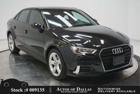 Audi A3 2.0T Premium CAM,PANO,HTD STS,17IN WLS,HID LIGHTS 2018