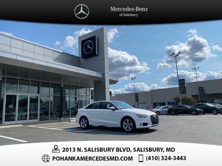 2018_Audi_A3_2.0T Premium FrontTrak ** Pohanka Certified  10 Year / 100,000_ Salisbury MD