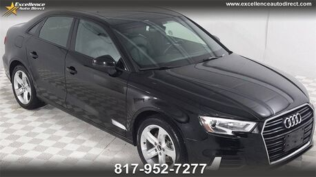 2018_Audi_A3_2.0T Premium PANORAMIC SUNROOF,BCK-CAM,BLUETOOTH,HEATED SEATS.._ Euless TX