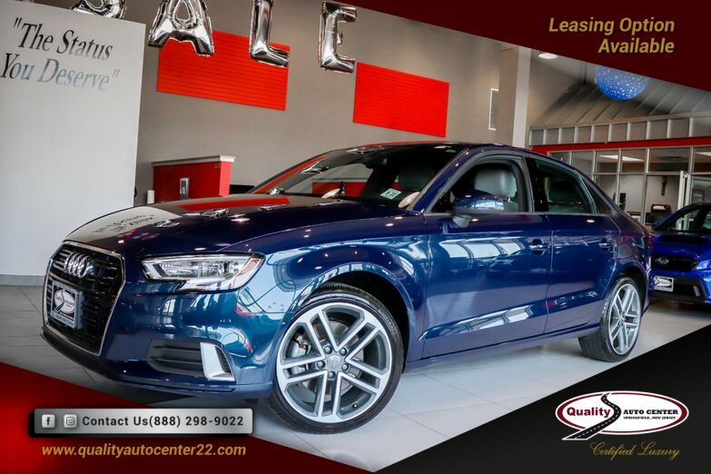 2018 Audi A3 Sedan Premium 18 Inch Wheels Convenience PKG Springfield NJ