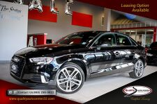 2018 Audi A3 Sedan Premium Convenience PKG 18'' Wheels