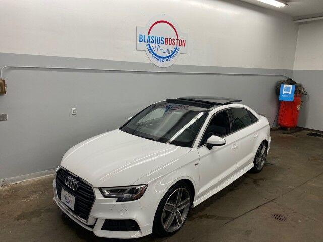 2018 Audi A3 Sedan Premium Plus Holliston MA