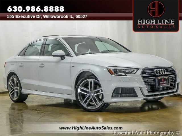 2018 Audi A3 Sedan Premium Plus Willowbrook IL