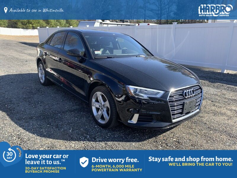 2018 Audi A3 Sedan Tech Premium Whitinsville MA