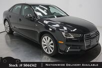 Audi A4 2.0T CAM,SUNROF,HTD STS,KEY-GO,18IN WLS,HID LIGHTS 2018