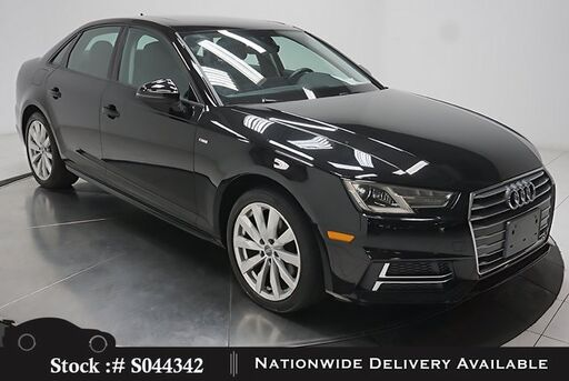2018_Audi_A4_2.0T CAM,SUNROF,HTD STS,KEY-GO,18IN WLS,HID LIGHTS_ Plano TX