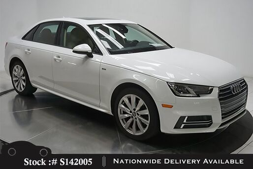 2018_Audi_A4_2.0T CAM,SUNROOF,HTD STS,18IN WLS,HID LIGHTS_ Plano TX
