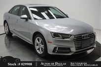 Audi A4 2.0T CAM,SUNROOF,HTD STS,KEY-GO,HID LIGHTS 2018